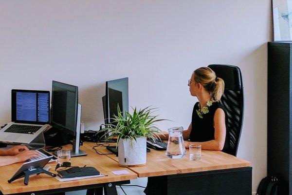 Cozy offices at Happy Flights